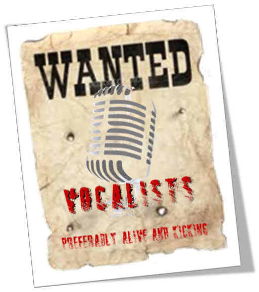 Wanted - Vocalists